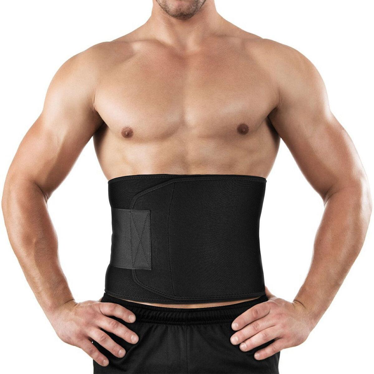 7b52a70d66 Adjustable Waist Trimmer Belt for Running Cardio Aerobics Waist Training  Walking