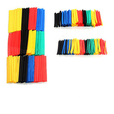 328pcs Polyolefin Assorted 21 Heat Shrink Tubing Sleeving Wrap Wire Cable 8size