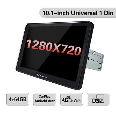 Universal Andriod 8.1 Car GPS Navigation 1 DIN 10.1 pollici Touch Screen 4GB RAM