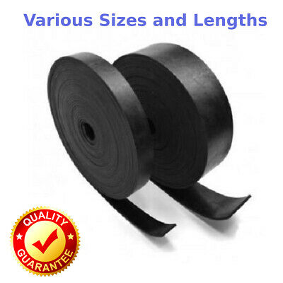 Solid Neoprene Rubber Strip - Various Widths Thickness and Lengths