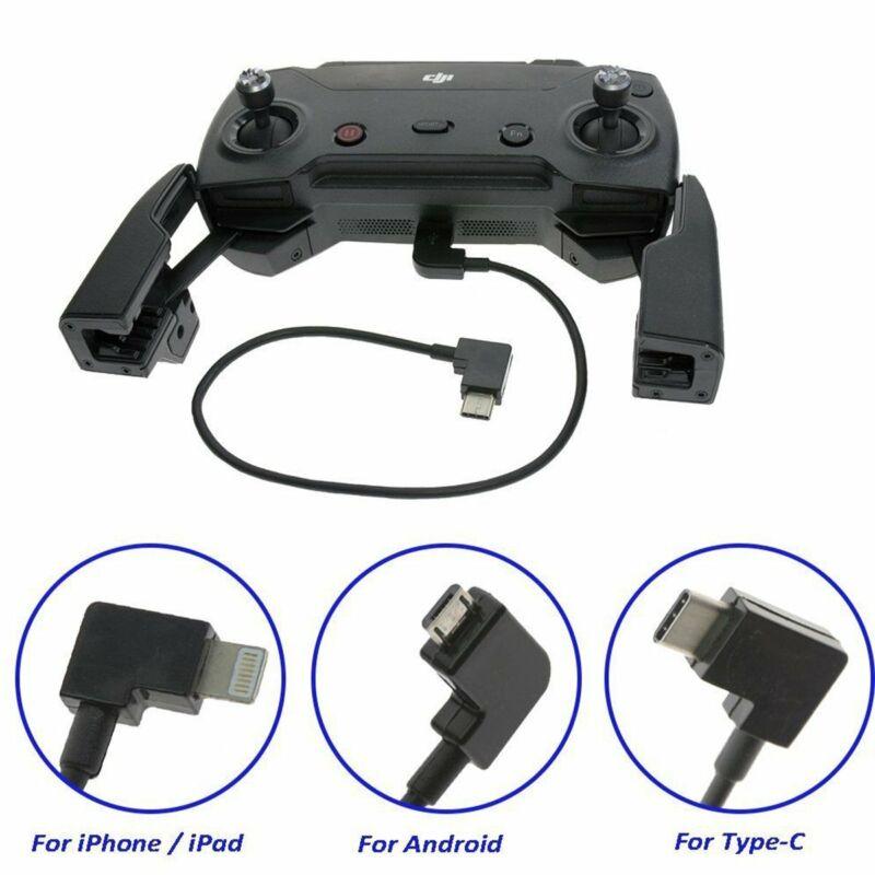 Micro USB Cable Type C OTG 90° For DJI Spark Mavic Pro Air