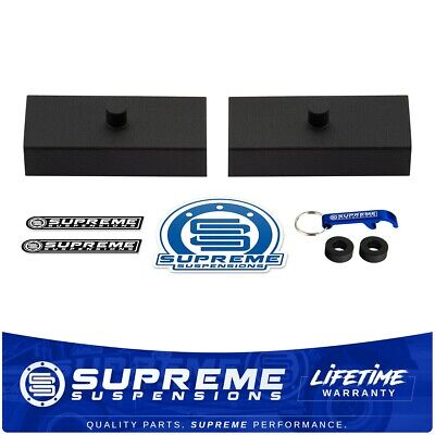 "For Chevy GMC Full Size SUV / Van 1"" Inch Rear Lift Level HD Steel Block PRO KIT"