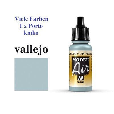Vallejo Model Air MA 334 71.334 Flanker Light Blue, Flanker Hellblau 17ml