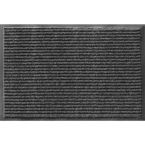 48x72 Rib Onyx Door Mat, PartNo 043-1902, by APACHE MILLS, S