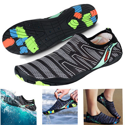 US Men Water Shoes Barefoot Aqua Socks Quick-Dry Beach Swim Sports Exercise Surf