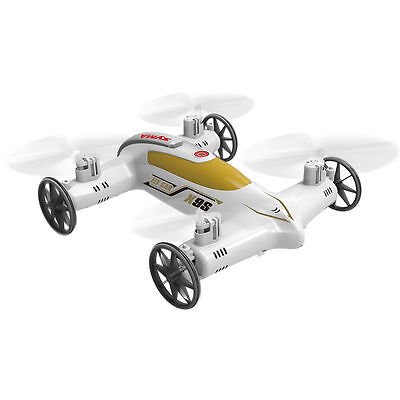 Syma X9S 2.4G 4CH 6-Axis RC Remote Control Flying Car Quadcopter 3D White