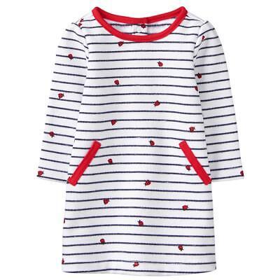 NWT Gymboree Spring Forward Ladybug Striped Dress Baby Girl many sizes