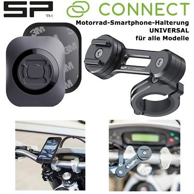 SP CONNECT Motorrad Handy Halterung MOTO BUNDLE Universal für alle Smartphones Universal Bundle