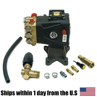 4000 Psi Rrv4g40d-f24 Ar Power Pressure Washer Water Pump Vrt3 Unloader