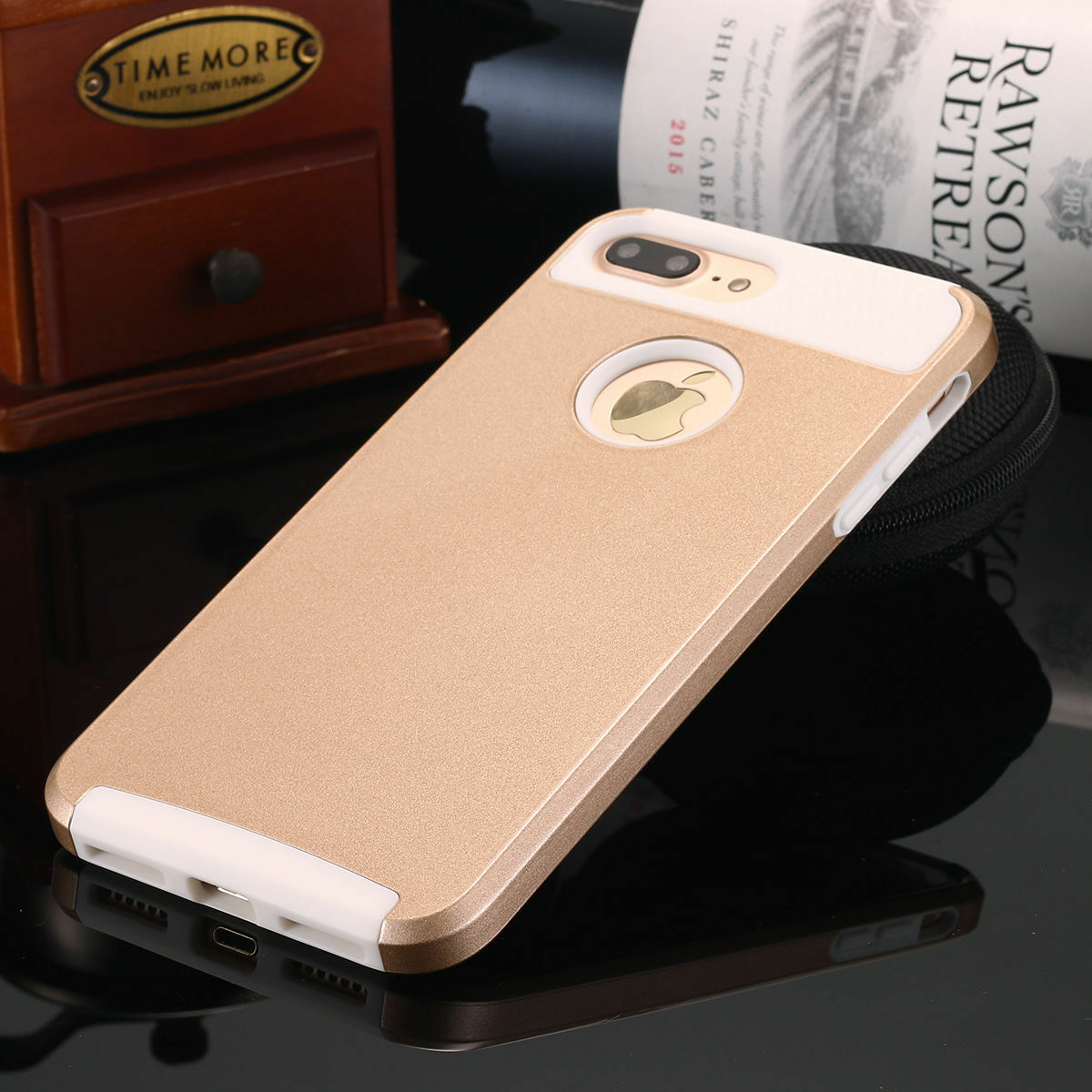 iPhone XS Max 6s 8 7 Plus X Case Hybrid Hard Heavy Duty Shockproof Rubber Cover