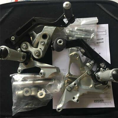 Genuine Ducati Panigale Adjustable Rearsets Footpegs System 899 959 1199 1299