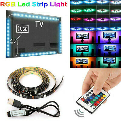 5V USB LED Strip Light TV backlight 5050 RGB Mood Light Color Changing Light Kit