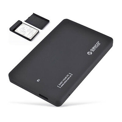 "ORICO 2599US3 USB 3.0 SATA External 2.5"" SSD HDD Hard Drive Disk Case Enclosure"