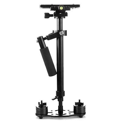 """New S60 Handheld Steadicam/Camera Stabilizer 24""""/60cm with Quick Release Plate"""