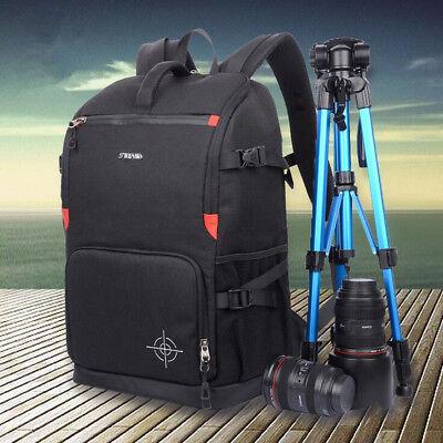 AU Multi-functional Waterproof Camera  Backpack Travel Bag SLR DSLR Photography