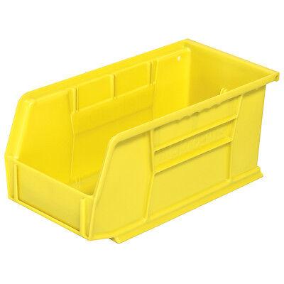 Akro-mils 30230yello Stack Hang Bin 10-78d X 5-12w X 5h Yellow 12pk