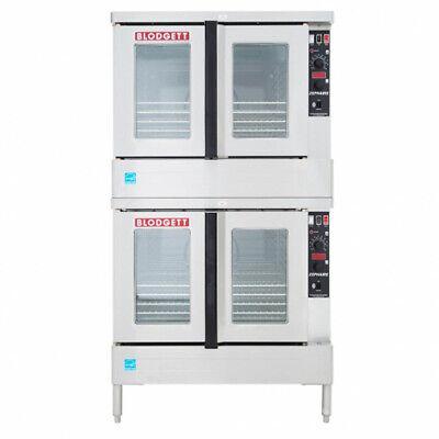 Blodgett Zeph-200-g Dbl Zephaire Double Deck Gas Convection Oven Bakery Depth