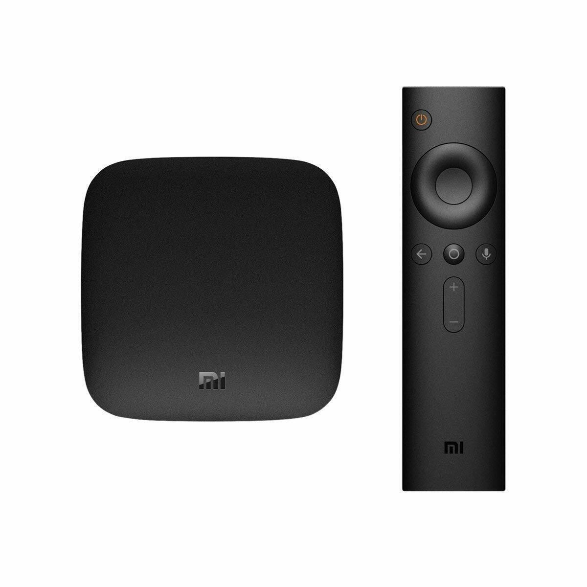 Original Xiaomi Mi Box - 4K Ultra HDR TV Streaming Media Pla