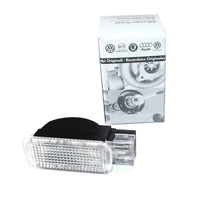 Original Audi Türwarnleuchte Reflektor Tuning weiß 4B0947415A Seitenleuchte OEM