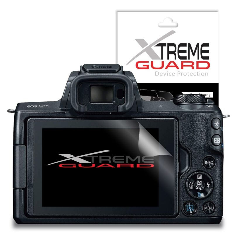 XtremeGuard Screen Protector For Canon EOS M50 (Anti-Scratch)