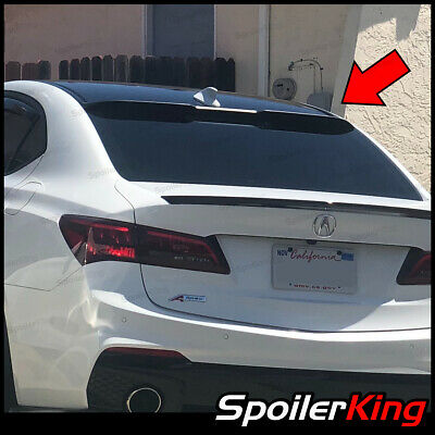 Fits: TLX 2015-Present Rear Roof Window Spoiler Made in USA Unpainted 244R