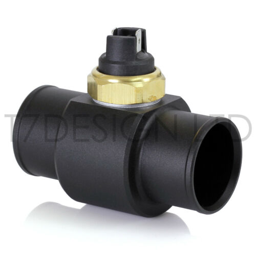 """Inline Radiator Fan Switch Hose Adapter & Switch. 25 to 51mm (1"""" to 2"""")."""