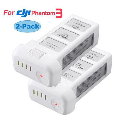 2x 15.2V 4480mAh Intelligent Battery For DJI Phantom 3 Professional Flight Drone