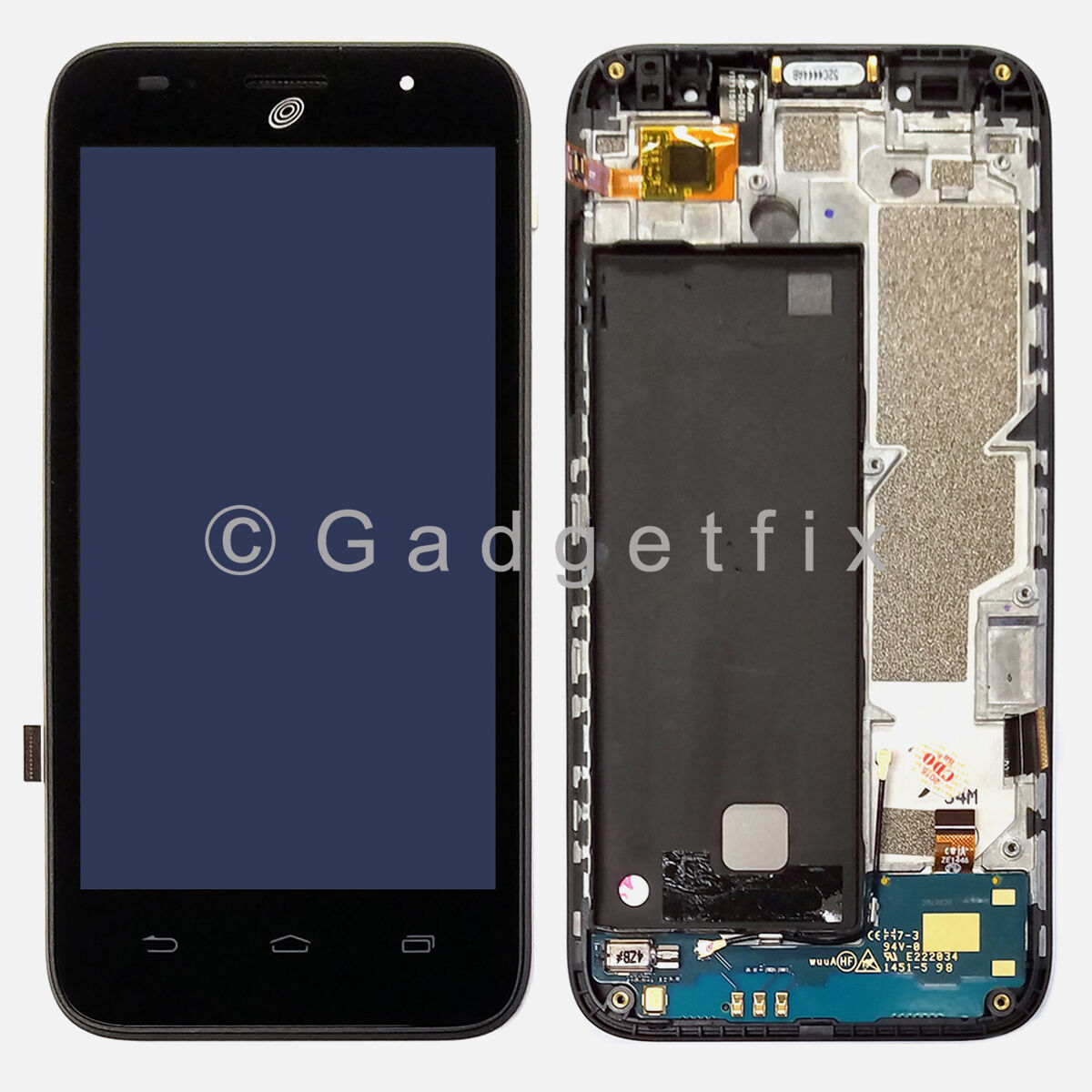Us Straight Talk Zte Scend Z791g Lcd Screen Display Touch...