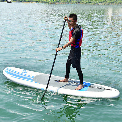 Goplus 10' Inflatable Stand Up Paddle Board w/ Adjustable Paddle Travel Backpack