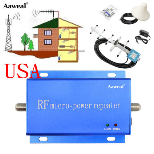 Cell Phone Signal Booster Home 3G 4G 850MHz CDMA Booster Amplifier Repeater