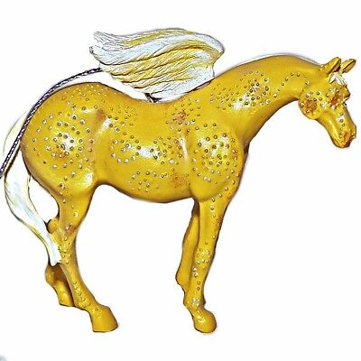 Trail of Painted Ponies Golden Girl Black Box Ornament Original Series 12324
