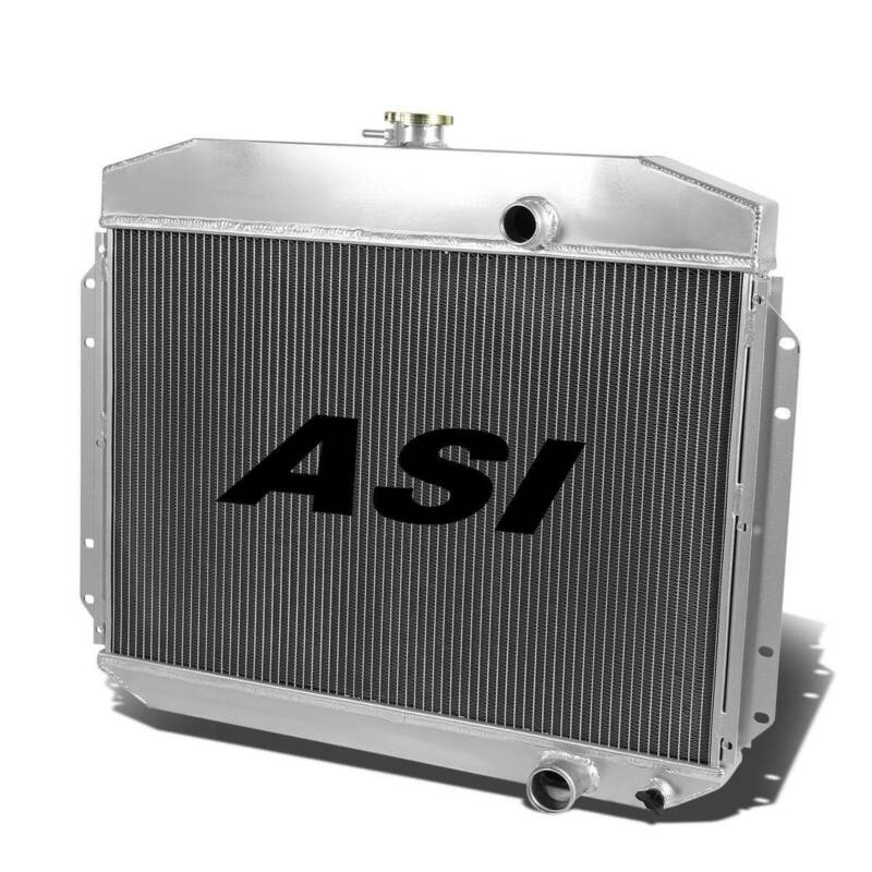 ASI 4 Rows Aluminum Radiator for 1961-1964 62 Ford F-100 F-250 F-350 6cyl Manual