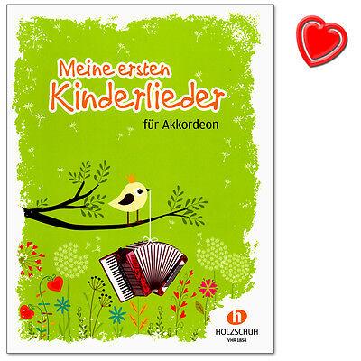Meine ersten Kinderlieder für Akkordeon - Holzschuh - VHR1858 - 9783864340901