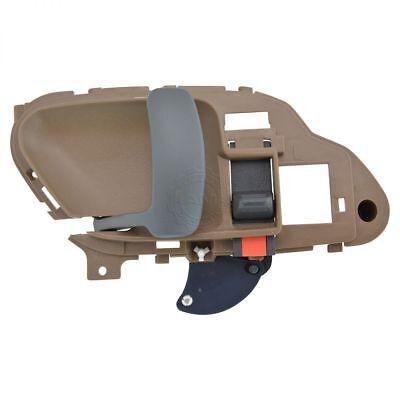 - Door Handle Inside Interior Tan Beige Driver Side Left LH for Chevy GMC