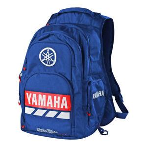 Troy Lee Designs TLD Yamaha RS2 Black Backpack Back Pack Bag Blue 608645330