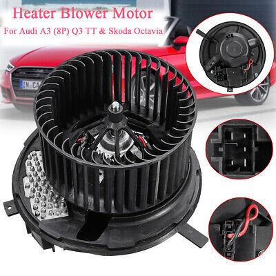 12V Heater Blower Motor Fan Fits Audi Q3 8P A3 TT Skoda Octavia Superb 1K2820015