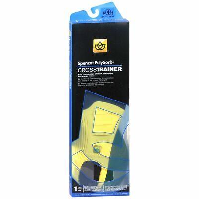 Spenco PolySorb Cross Trainer Replacement Insoles Size 4 - 1 (Spenco Polysorb Replacement)