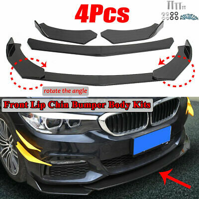 Carbon Fiber Front Bumper Lip Splitter Spoiler For BMW E90 E91 E92 E93 E60 E61 O
