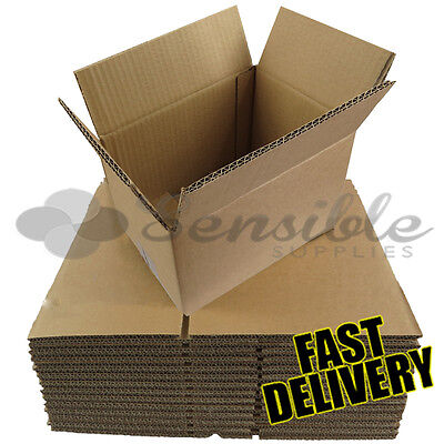 300 x SMALL STRONG DOUBLE WALL POSTAL GIFT MAILING CARDBOARD BOXES 9x6x6