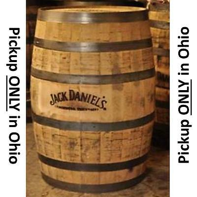 Famous Name Brand Whisky Barrel - solid OAK Whisky Barrel