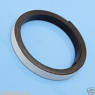 1m Self Adhesive Magnetic Strip Strong Magnet Tapes 1m X 10mm X 1.5mm