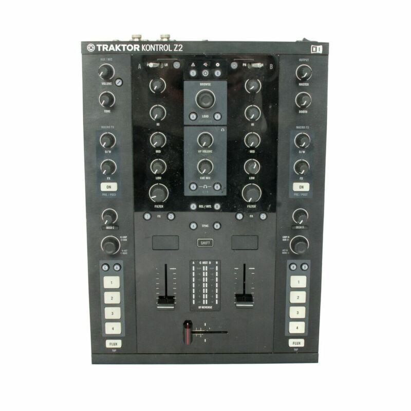 Native Instruments Traktor Kontrol Z2 DJ Mixer, Traktor Controller and Interface