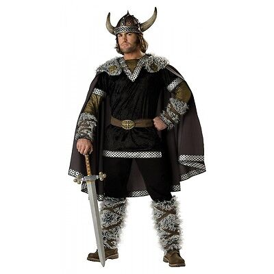 Viking Costume Adult Halloween Fancy Dress