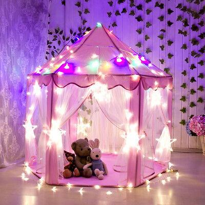 12 Star Lights Princess Castle PlayHouse Outdoor Indoor Kids