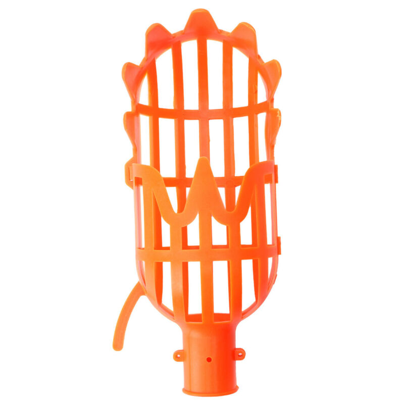 Fruit Picker Basket Catcher Collector Gardening Picking Tool for Apple Peach USA