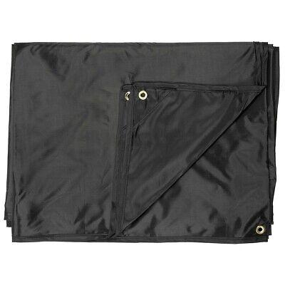 MFH Tarpaulin Tarp Multipurpose Raincover Tent Sun About 300 X 300 CM Black