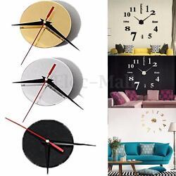 Modern DIY Large Quartz Wall Clock Movement Hands Mechanism Repair Parts Decor