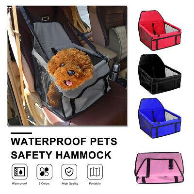 Portable Dog Car Seat Belt Booster Travel Carrier Folding Ba