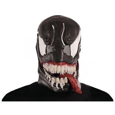 Amazing Spider-Man Venom 3/4 Maske Kostüm Erwachsene Marvel Comics Neu 36307