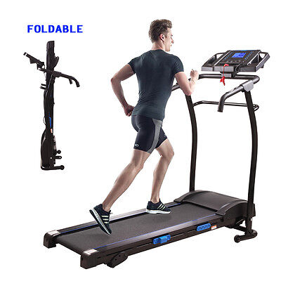 1500W Folding Treadmill Electric Motorized Power Running Jogging Fitness Machine
